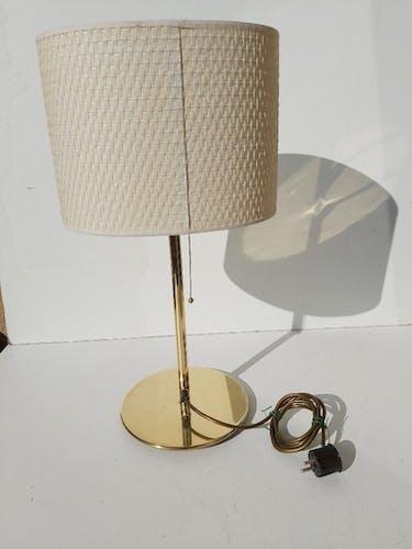 Lampe design laiton Sergio Bernardi Milano