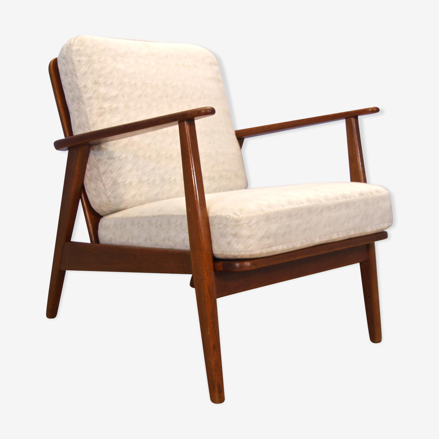 Danish lounge chair in teak, 1960