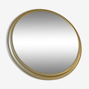 Mirror Pierre Vandel aluminum gold 60 x 60 cm