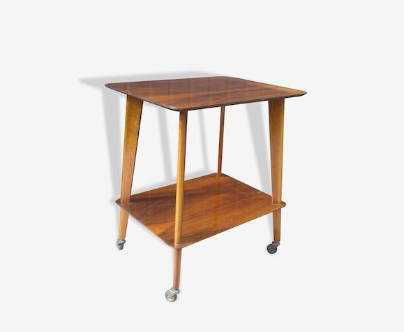 Table-bar à roulettes années 60