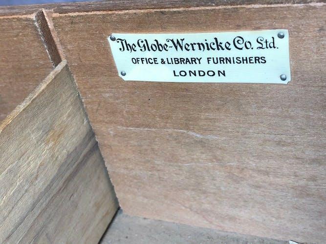 Bureau à rouleau Wernicke Co Ltd London