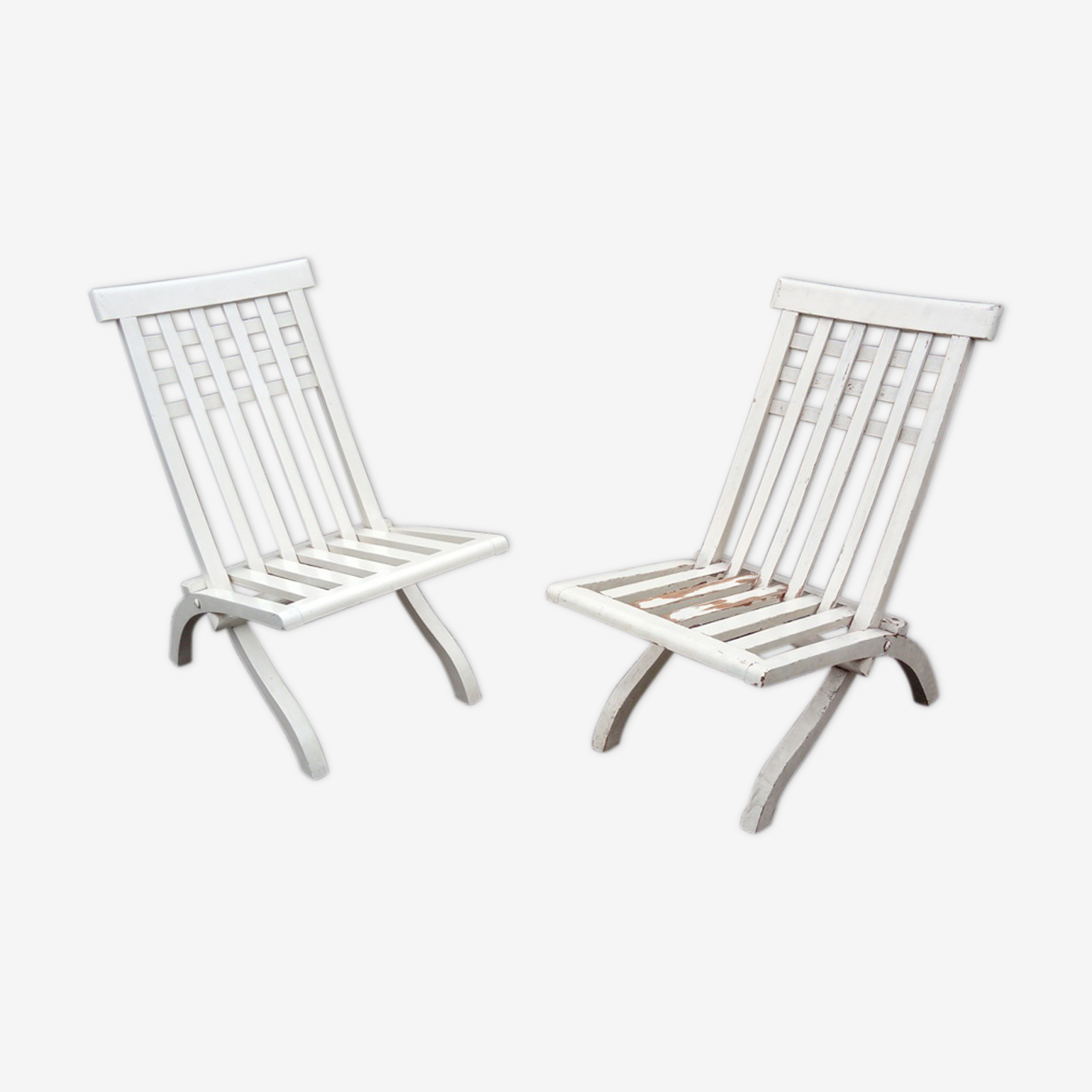 Pair of chairs of Robert Mallet-Stevens for Pierre Dariel