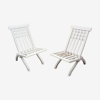 Pair of chairs of Robert Mallet-Stevens for Pierre Dariel