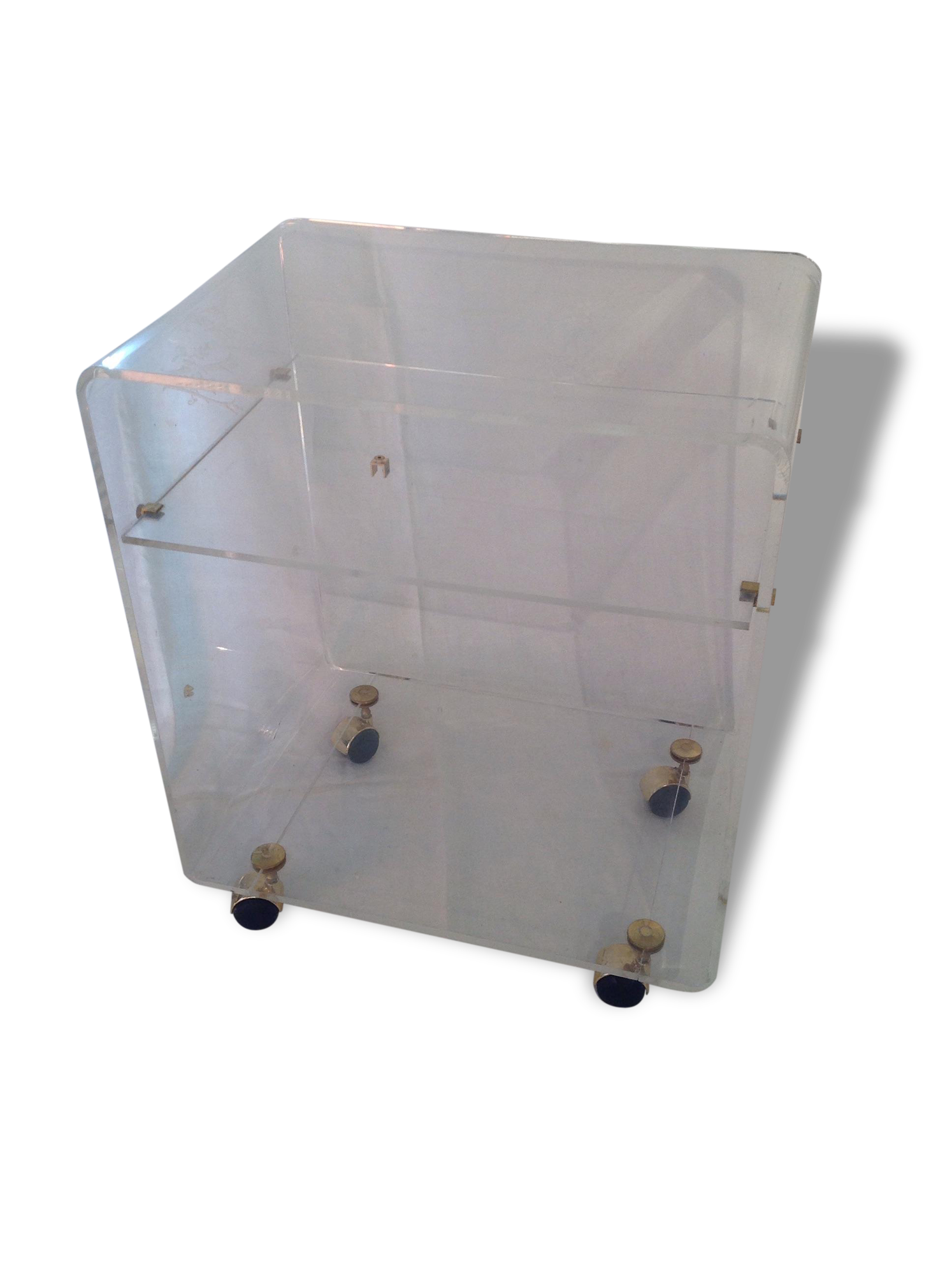 Perfect meuble tv david lange with meuble plexiglas transparent - Tabouret de bar plexiglas transparent ...