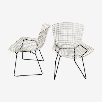 Paire de chaises par Harry Bertoia