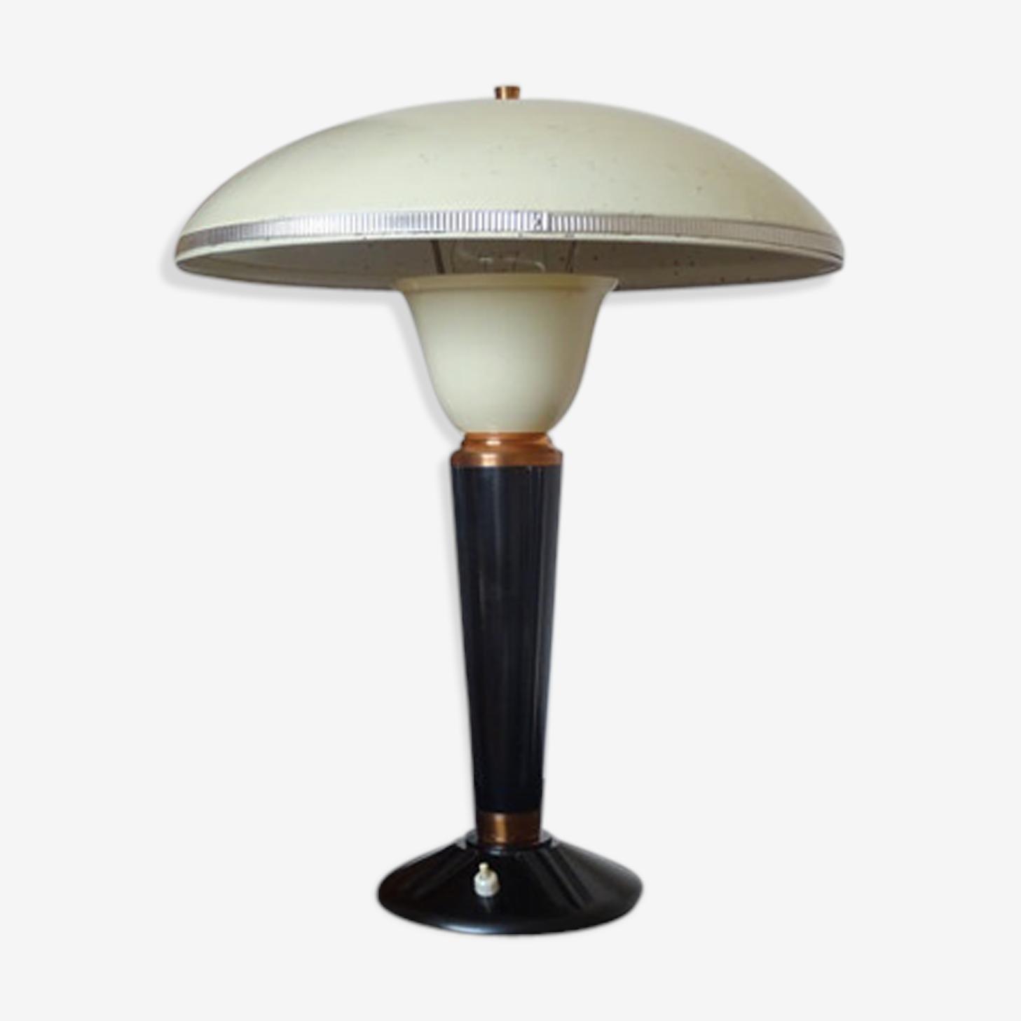 Lampe De Couleur Jaune Vintage D'Occasion