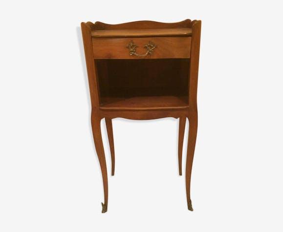 dff190d1375b1f Table de chevet style Louis XIV vintage - bois (Matériau) - marron ...
