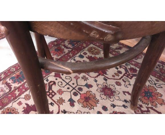 8 chaises bistrot en bois courbé