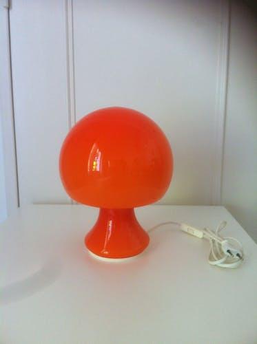 Lampe forme champignon vintage
