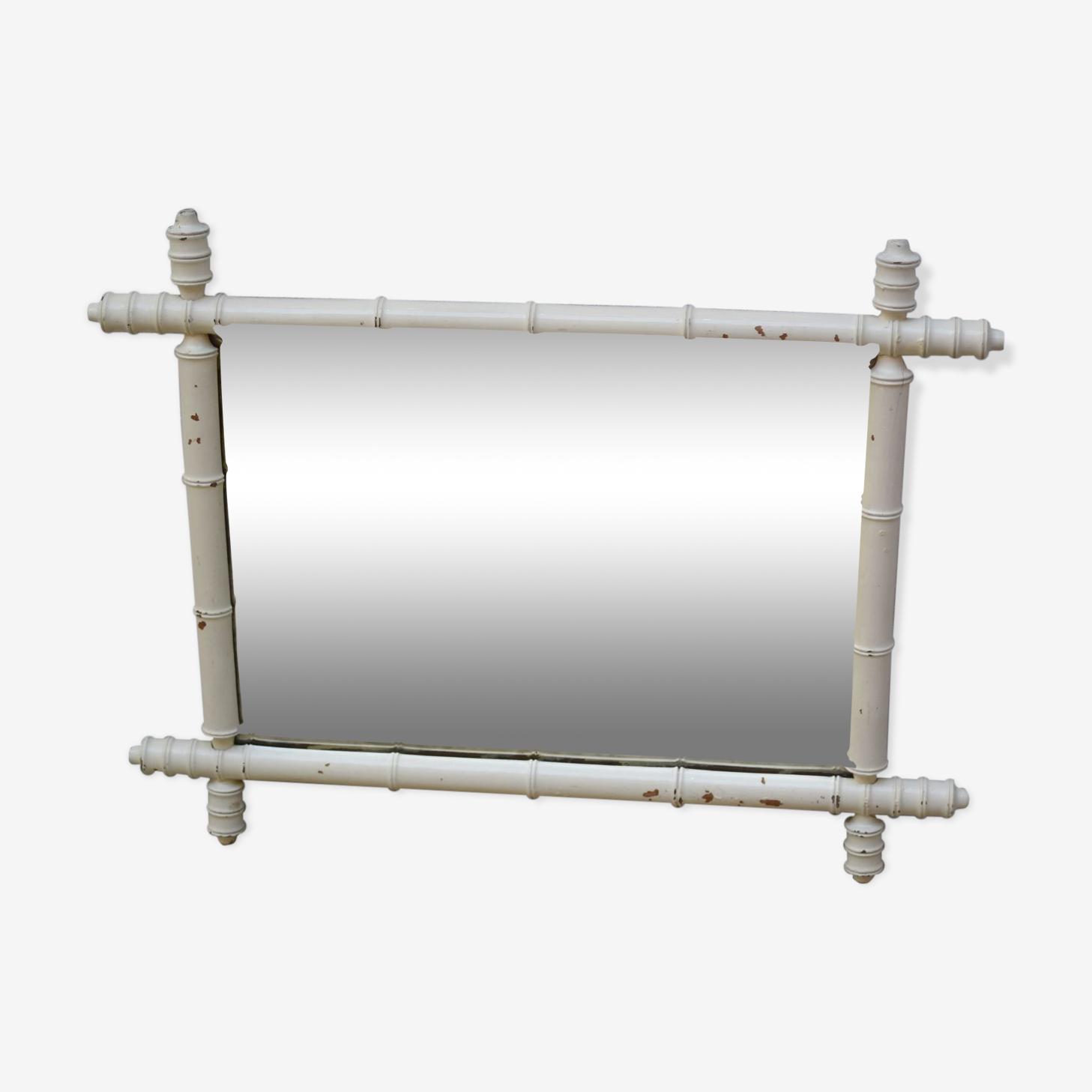 Bamboo mirror 47x59cm