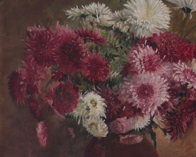 "Table ""bouquet of dahlias"""