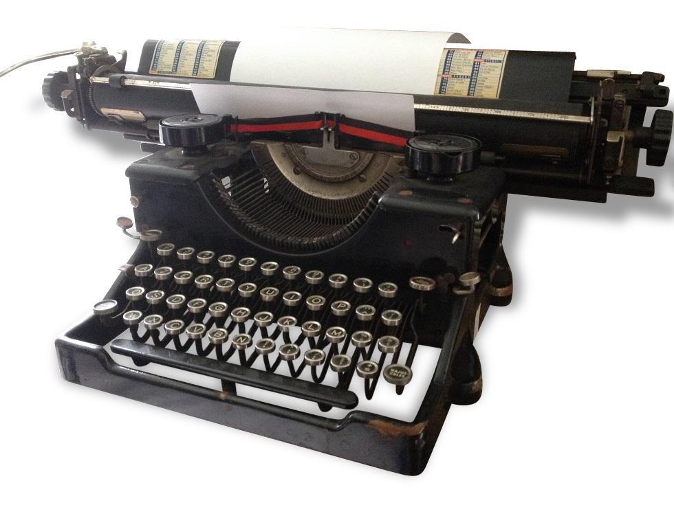 Machine à écrire hermes standard