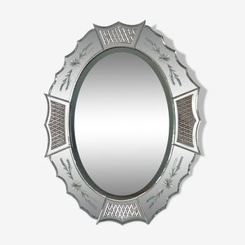 Venetian mirror 75x95cm