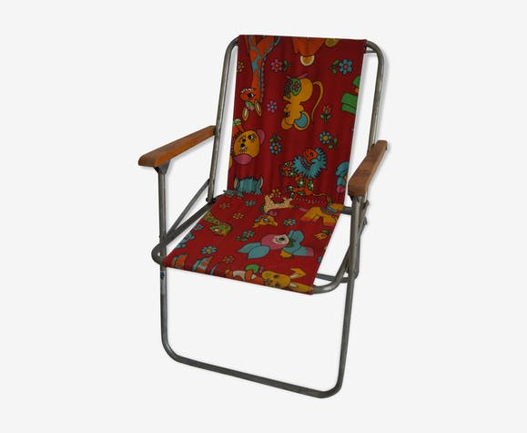 glzWNLe rouge Fauteuil tissu vintage vintage bf76gy