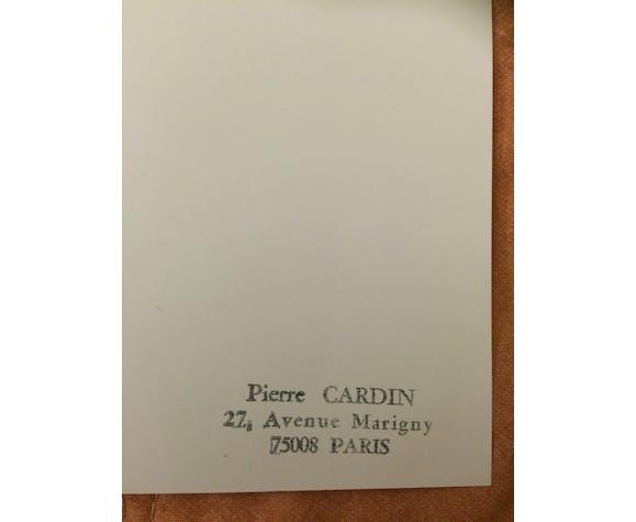 Pierre cardin : magnifique illustration/dessin/ croquis de mode de presse  - époque fin des années 80