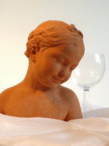 Bust of little girl