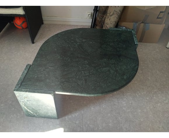 Green Marble Coffee Table Line Roset Marble Green Vintage