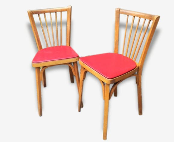 Paire de chaises bistrot Baumann