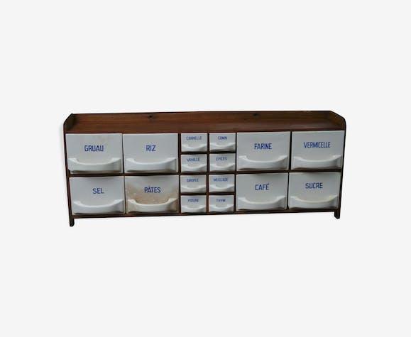 meuble tiroirs pices c ramique porcelaine fa ence. Black Bedroom Furniture Sets. Home Design Ideas