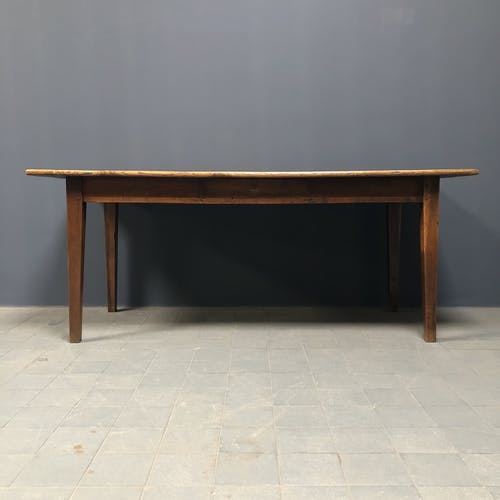 French oak farmhouse kitchen table from the early 1900s.