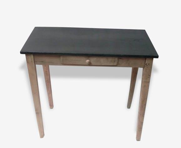Table console petit bureau écritoire 1 tiroir bois