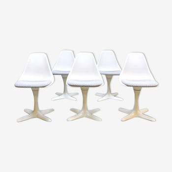 Ensemble de 5 chaises Arkana