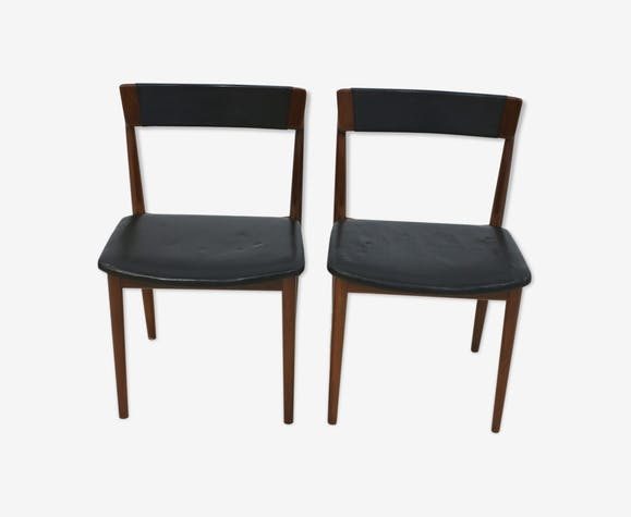 Pair of chairs Henry Rosengren Hansen for Brande Mobelindustri