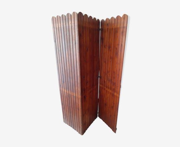 Paravent en pichpin à 3 vantaux