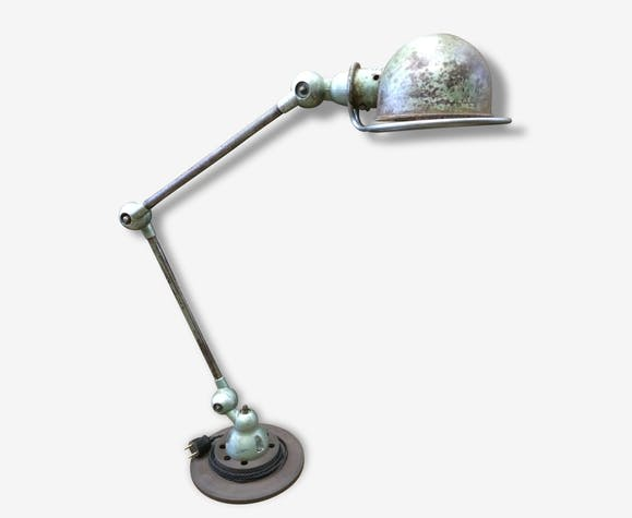 Lampe Jld Jielde D Atelier Metal Vert Industriel 80883