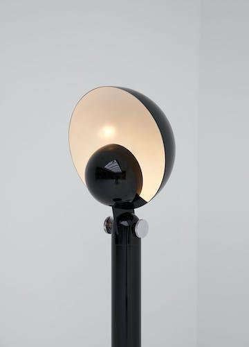 Lampadaire cuffia  par Francesco Buzzi pour Bieffeplast