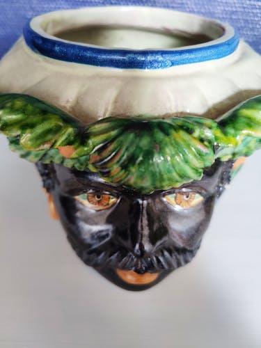 Vase céramique Sicilien