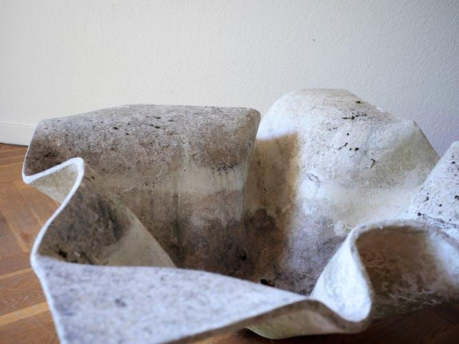 Jardinière 'Elephant Ear' par Willy Guhl