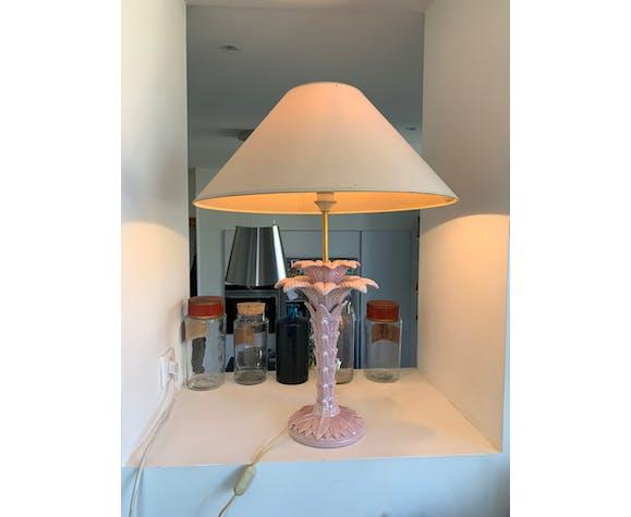 Lampe palmier en céramique
