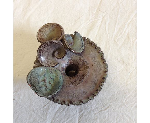 Candlestick in ceramic