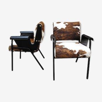 Paire de fauteuils Albenga de Gustavo Pulitzer Finali pour Arflex, 1954
