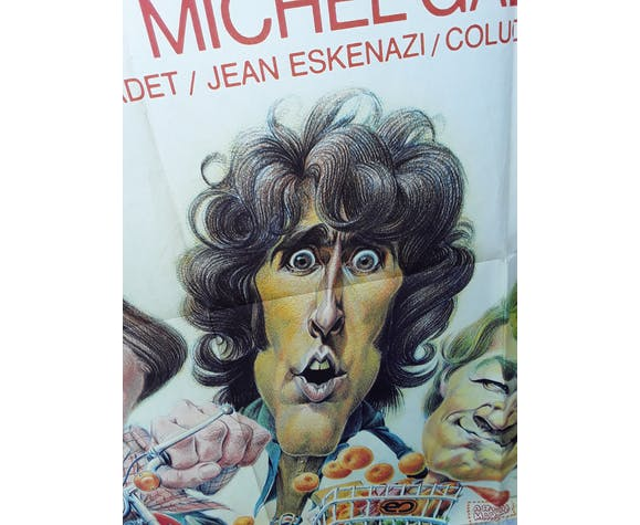 """Affiche """"Le grand bazar Les Charlots"""" 1973 - 120x160cm"""