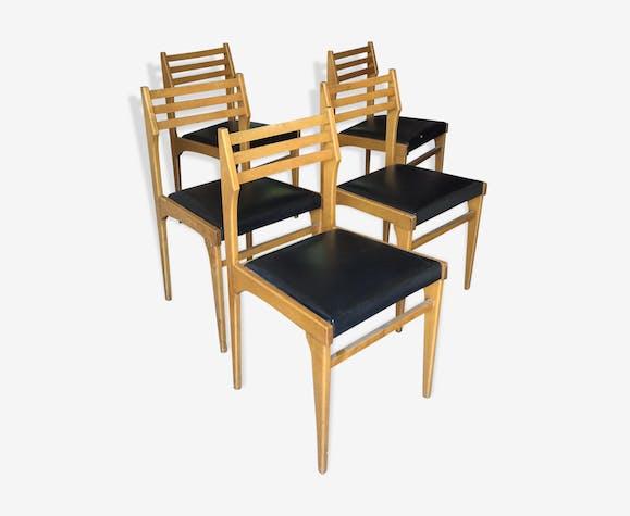 5 chaises scandinave