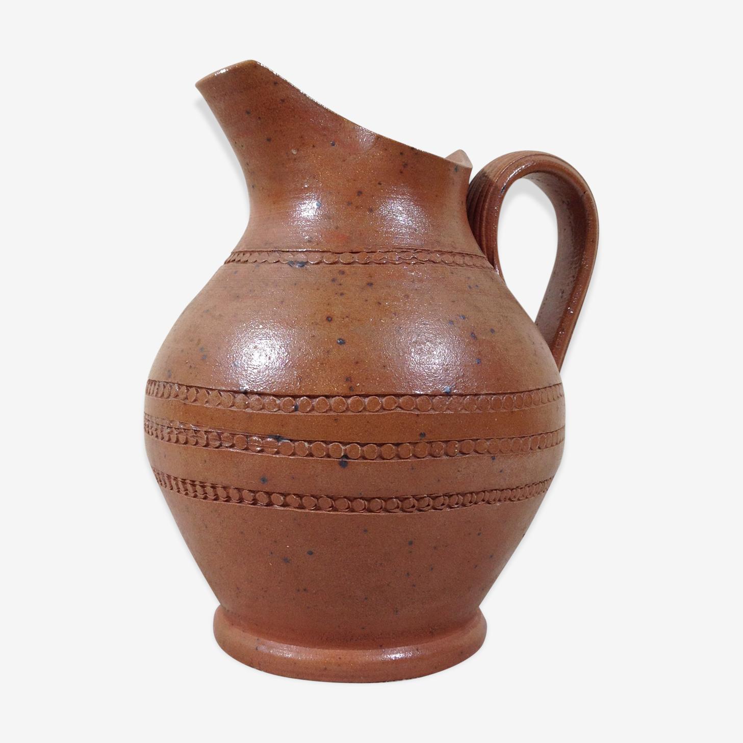 Pichet en grès chamotté - 1 litre