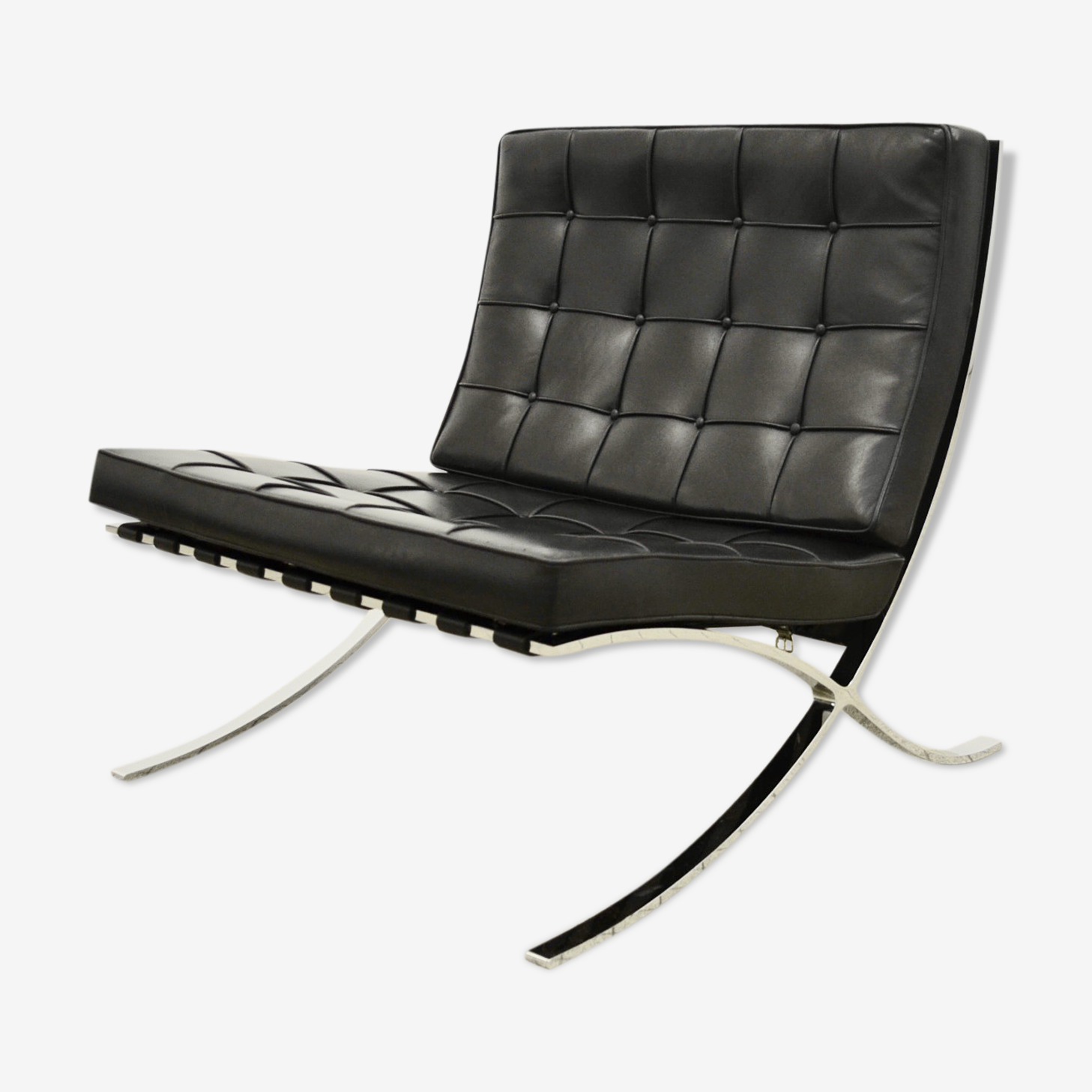 Barcelona Knoll armchair by Mies Van Der Rohe