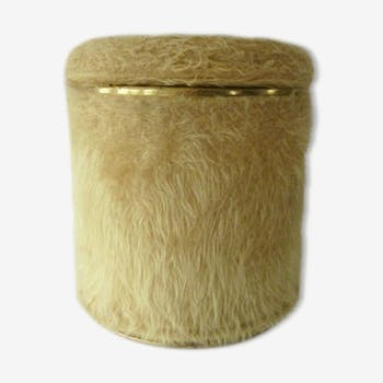 Pouf hairpiece mustard years 70