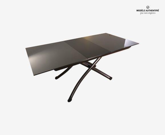 basse et Yoyo Ligne cristal verre Table par gris Roset Ygb7v6yf