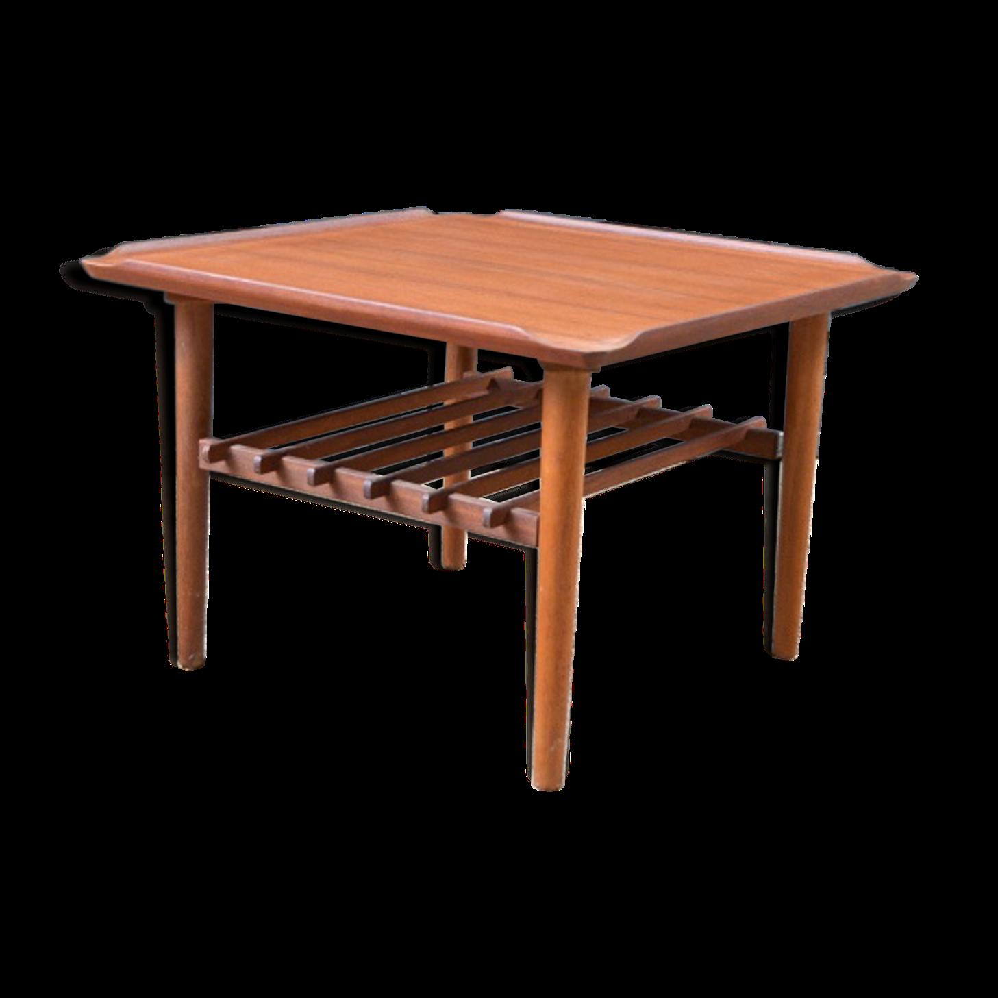 Table basse danoise en teck