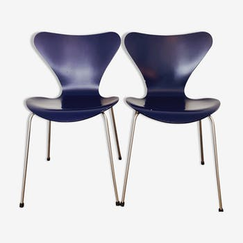 Chairs by Arne Jacobsen for Fritz Hansen