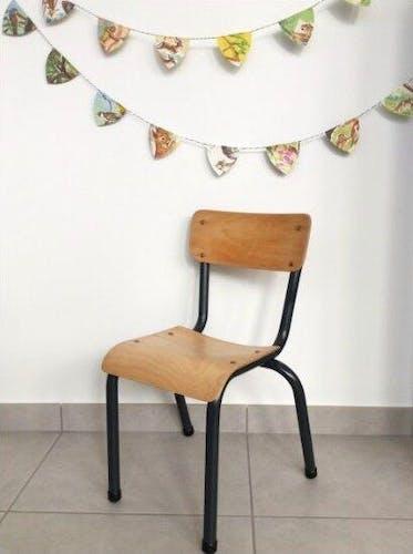 Ensemble chaise et bureau école maternelle