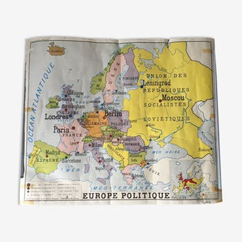 Authentic World Map.Selency Unique Furniture And Vintage Home Decor