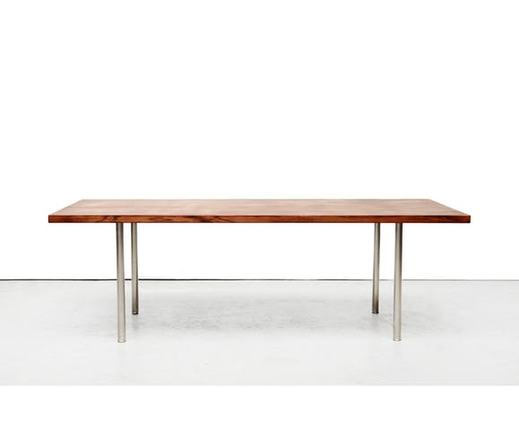 Table basse modèle AT12 par Hans Wegner pour Andreas Tuck années 50