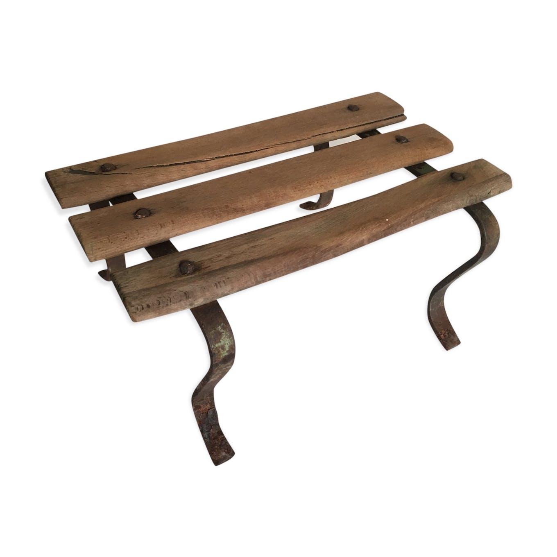 Banc de jardin fer et bois ancien - fer - bois (Couleur) - classique ...