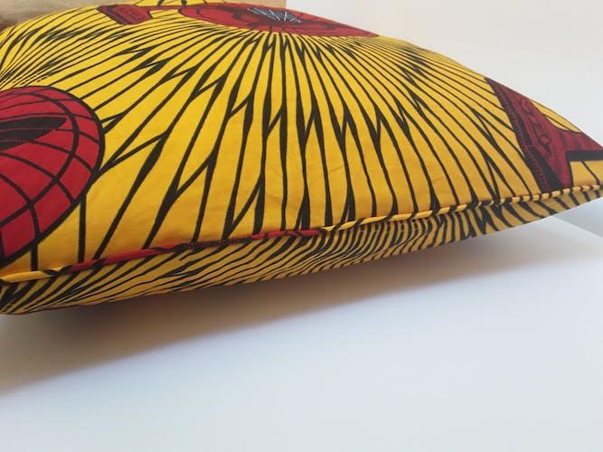 100% real wax 50x50 cotton cushion cover