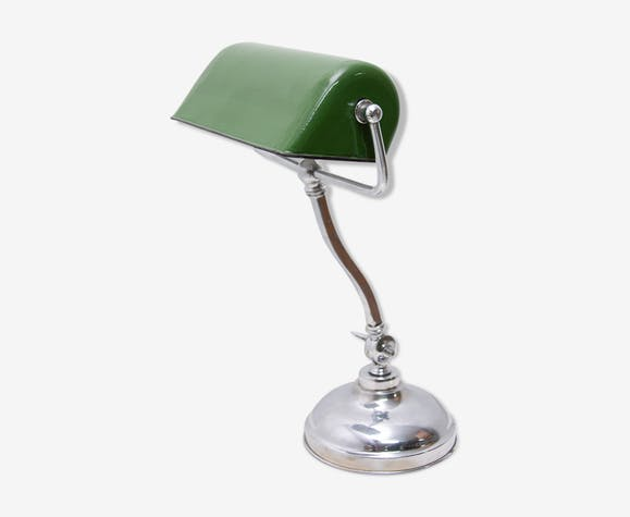 Lampe de banquier réglable Art Déco, années 1930