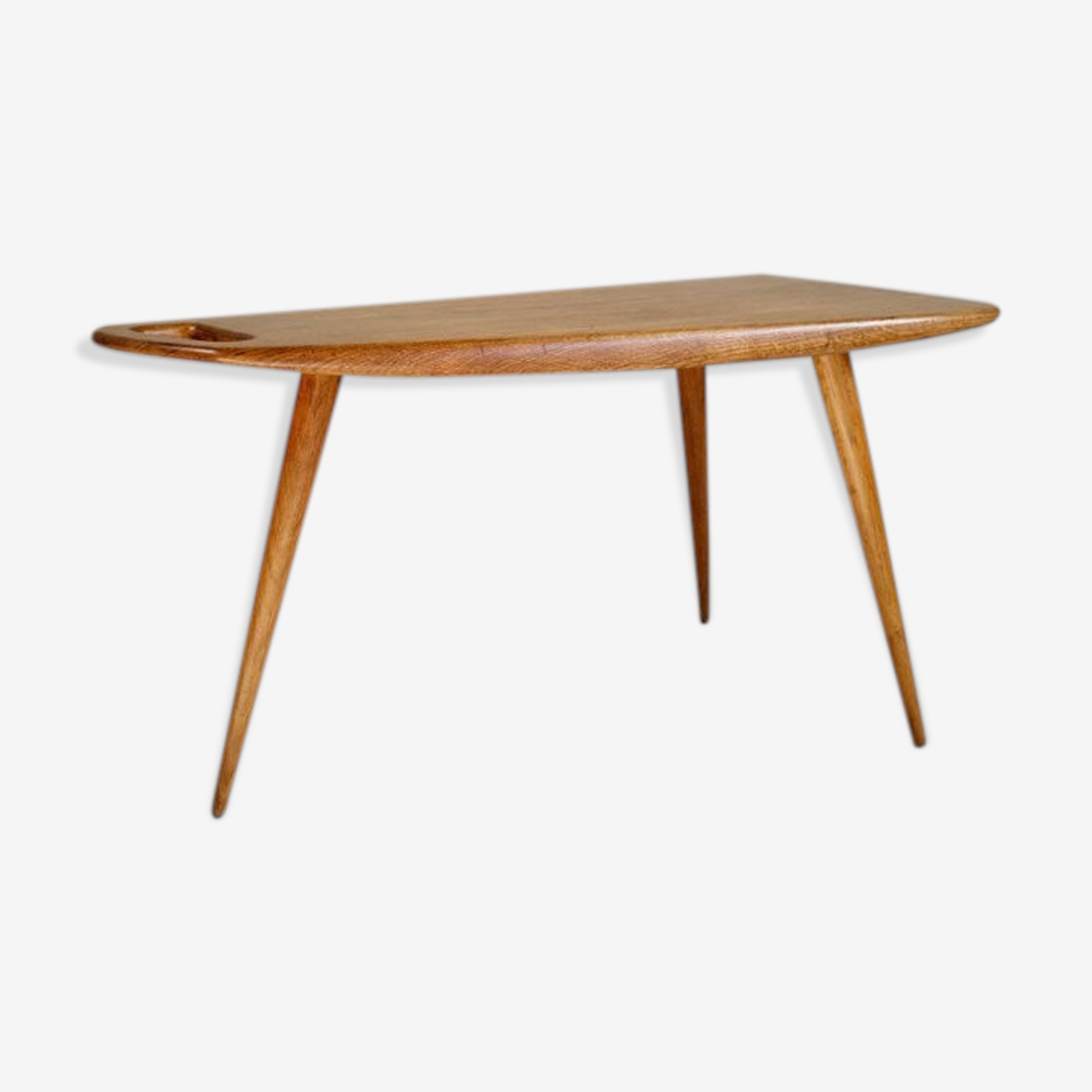 Table low n ° 44 oak Pierre Cruege 1950
